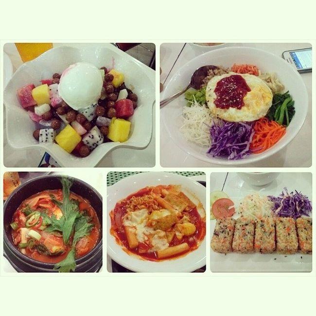 Lunch with cousins ♥ Hanuri KoreanFoods 김치찌개 비빔밥 돆복이 추먹맙 박빙수