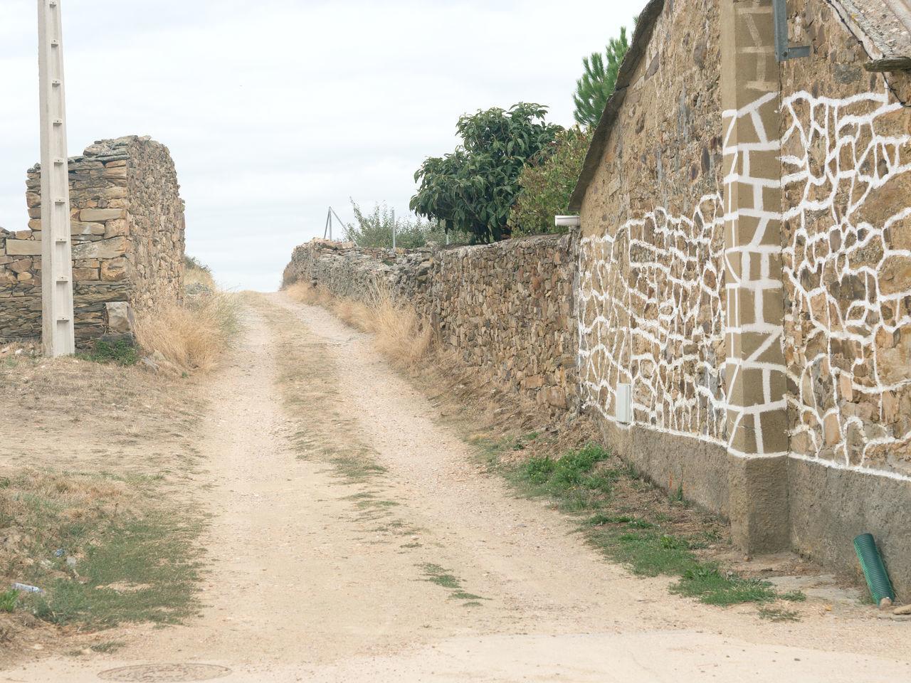 Camino De Santiago / Way Of Saint James in Astorga, Spain Arid Climate Camino De Santiago Footpath Pathway Pilgrimage Travel Destinations Walkway Way Way Of Saint James