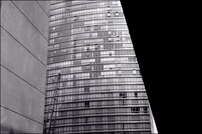 Canary Wharf London Docklands Selenium Tone monochrome landscape Urban Geometry
