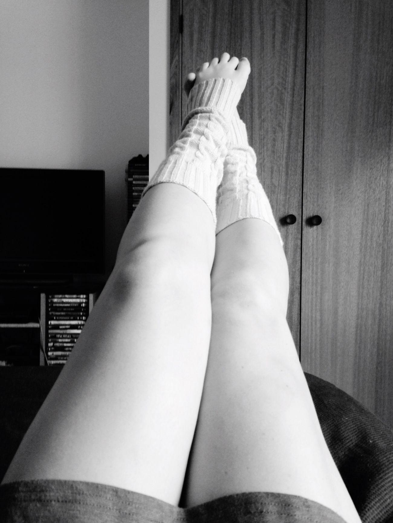 Legs Legwarmers Blackandwhite
