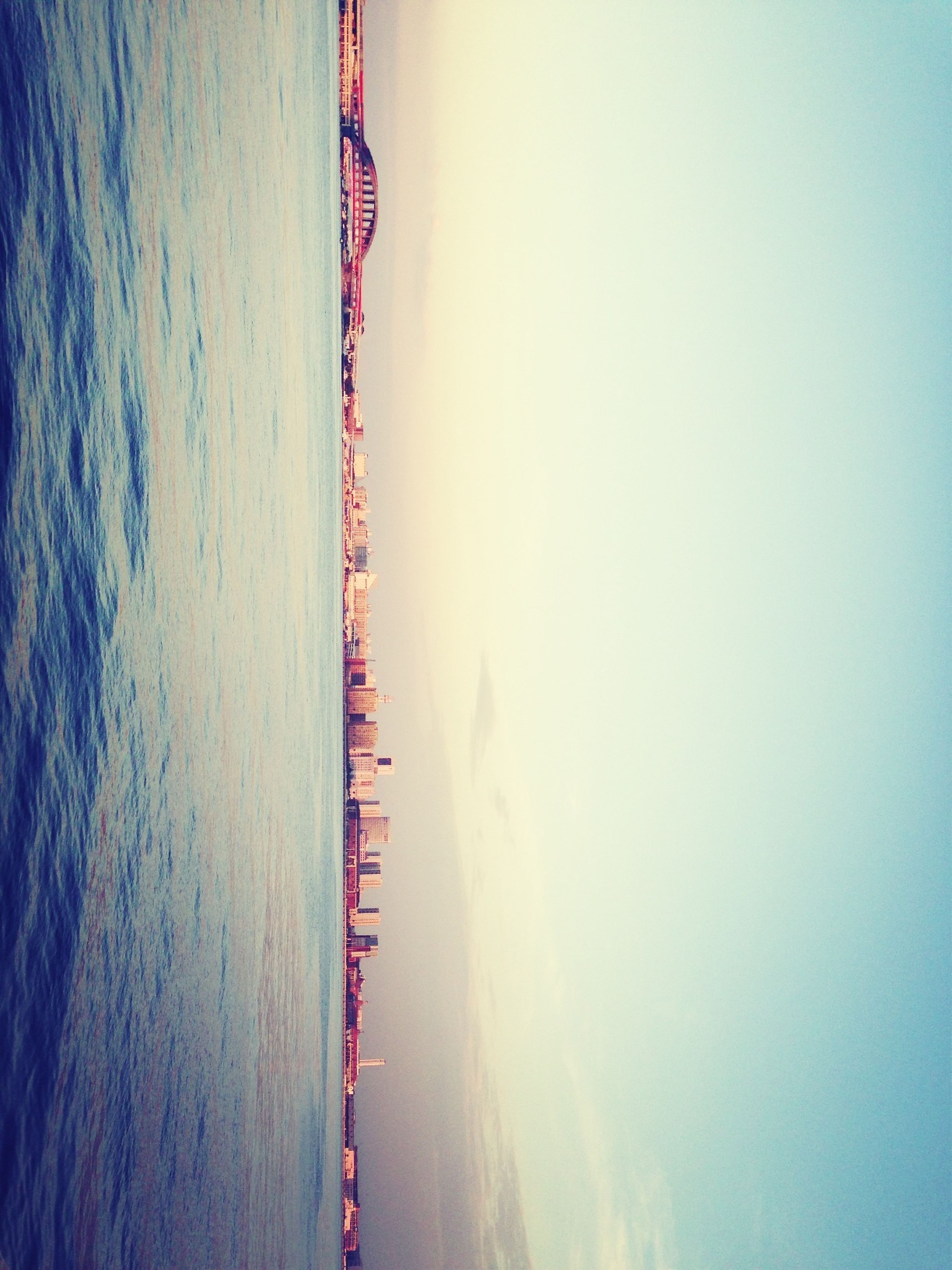 water, sea, waterfront, clear sky, copy space, tranquility, tranquil scene, scenics, nautical vessel, transportation, nature, beauty in nature, sky, boat, dusk, reflection, calm, outdoors, ocean, river