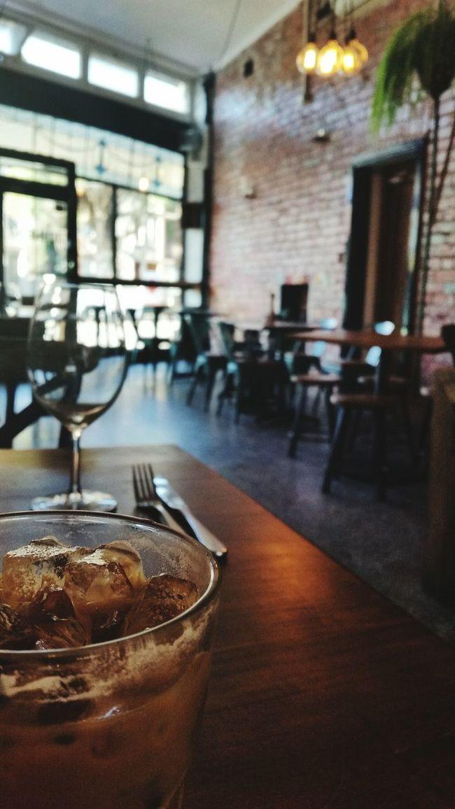 Icedcoffee Cafe 5pm Elwood Australia Samsung Galaxy S5 Coffee