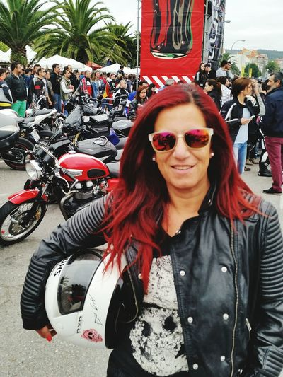 Check This Out Love♥ Badgirl♡ Escape Velocity Galicia, Spain Motard