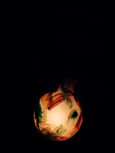 Black Background Illuminated No People Studio Shot Painted First Eyeem Photo