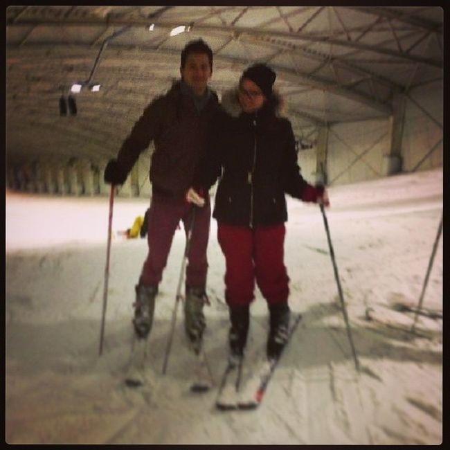 Vandaag gezellig wezen skieen! Skie Snow Snowplanet Family outing fun