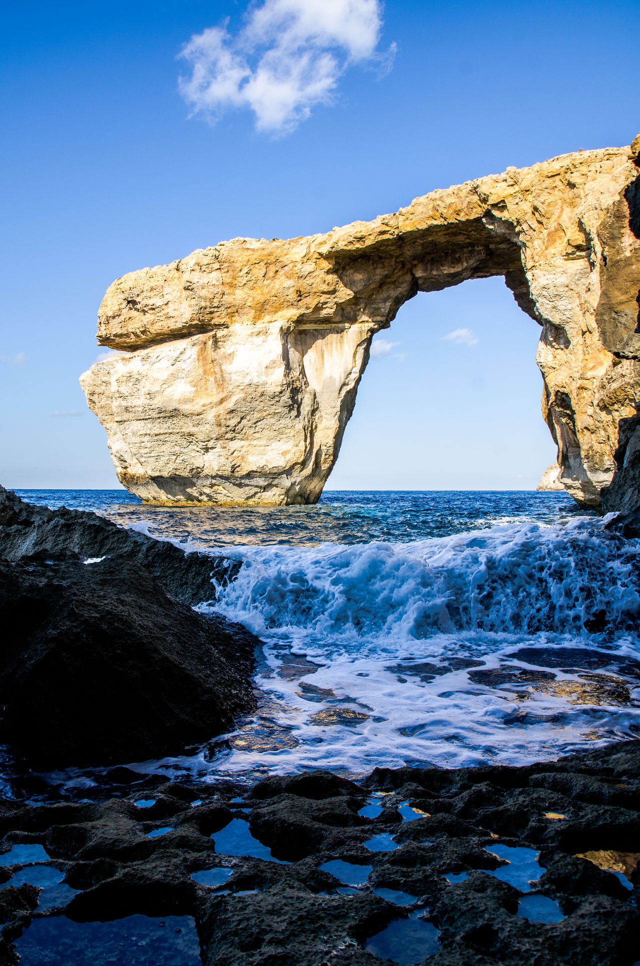 Astrology Sign Beauty In Nature Blue Day Nature No People Outdoors Representing Rock - Object Scenics Sea Sky Travel Travel Destinations Water