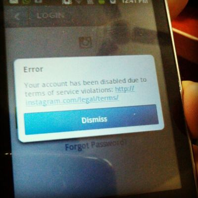 Seems like instagram is suspicious :p not allowing neigus to register :p Irix2012 Dmodar Sad