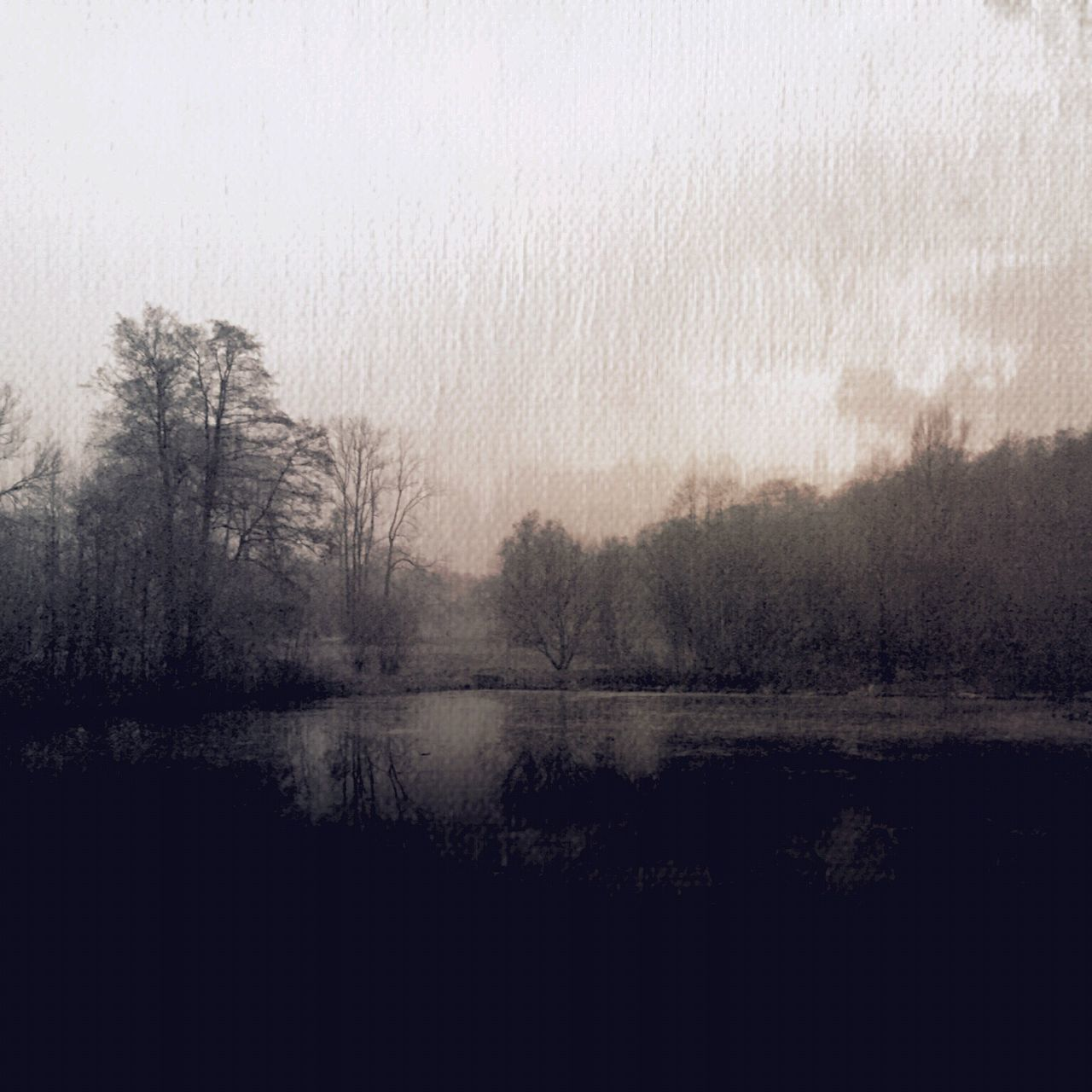 Tree Nature Reflection Water Beauty In Nature Blackandwhitephotography Black And White Photography Black&white Blackandwhite Wintertime Melancholic Cityscapes Melancholy Cold Weather Melancholic Landscapes Landscape_Collection Nature_collection Lake View Painterly Painterly Effect In A Quiet Moment