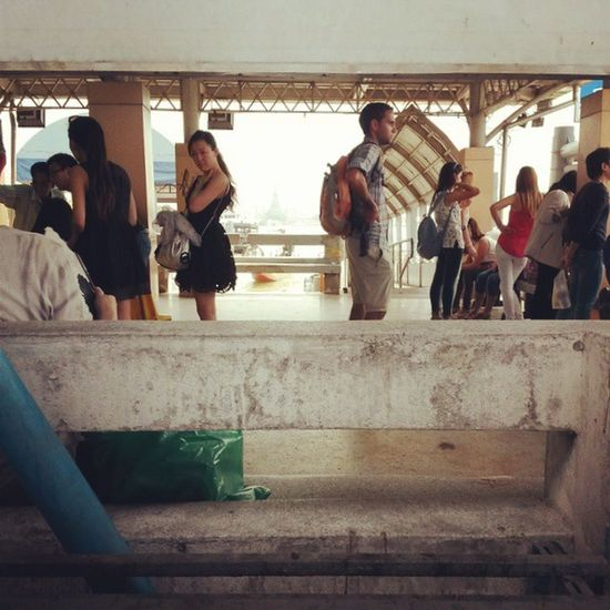 Waitingfortheboat Bangkok Pier Chaophraya
