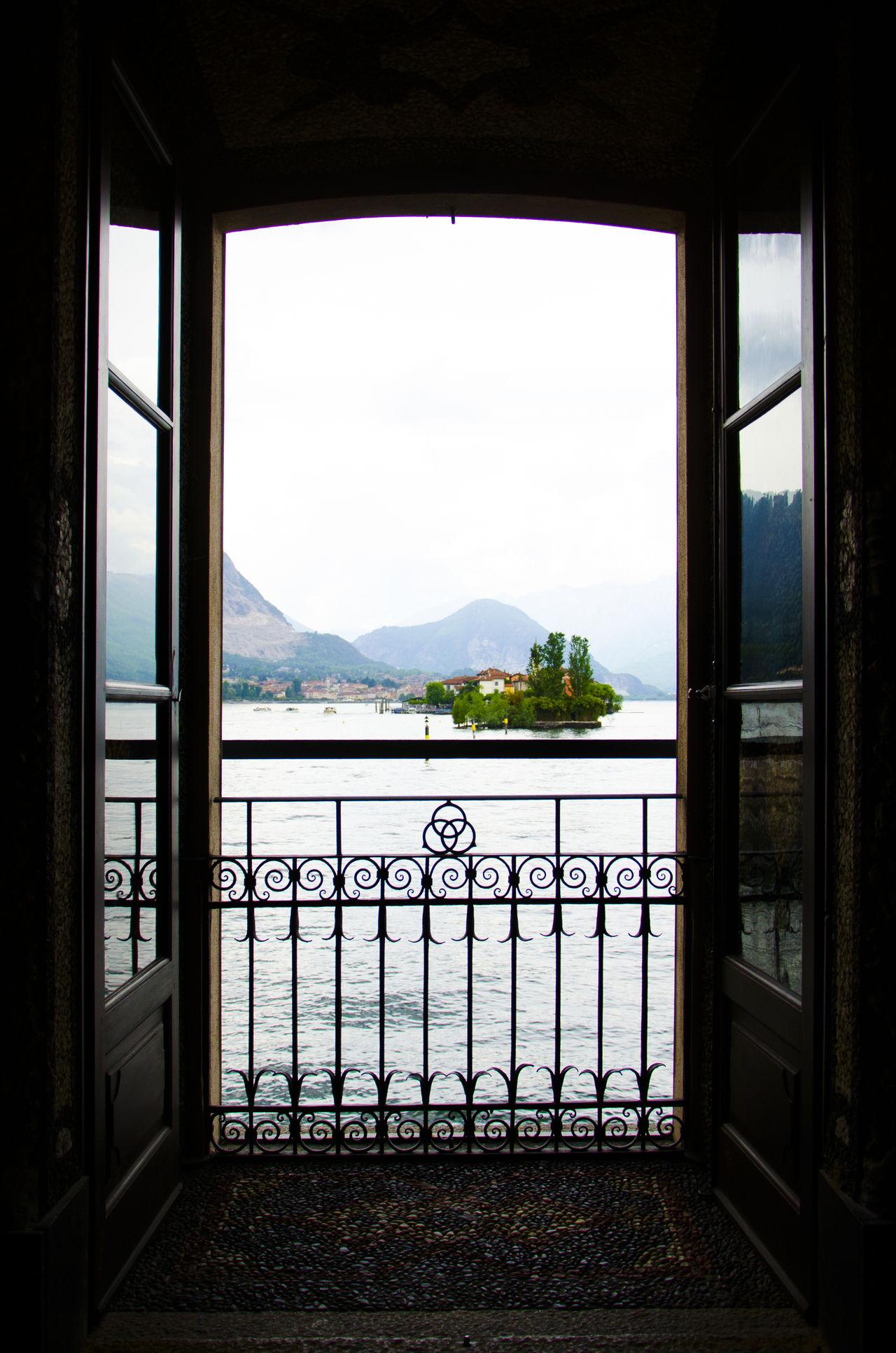 Finestra Island Isola Lago Maggiore Lago Maggiore, Italy Lake Lake View Palace Palazzo Silhouette View Vista Window The Architect - 2017 EyeEm Awards