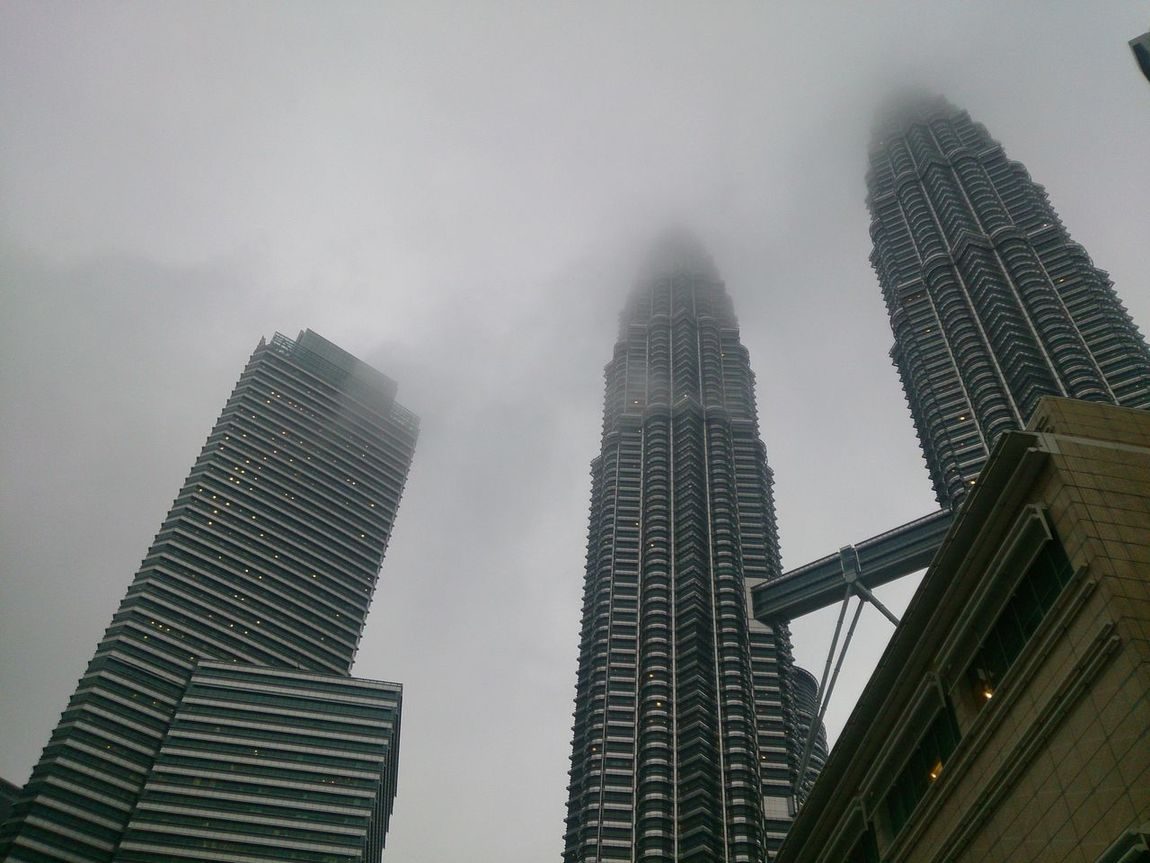 Foggyweather Fogging Travel Destinations Architecture Urban Skyline Cityscape Travel Outdoors Palm Tree Vacations Downtown District Sky Day Nature Kuala Lumpur Malaysia Truly Asia KLCCTwinTower KLCC❤❤ Celebration ASIA High Angle View Modern Landscape Skyscraper City