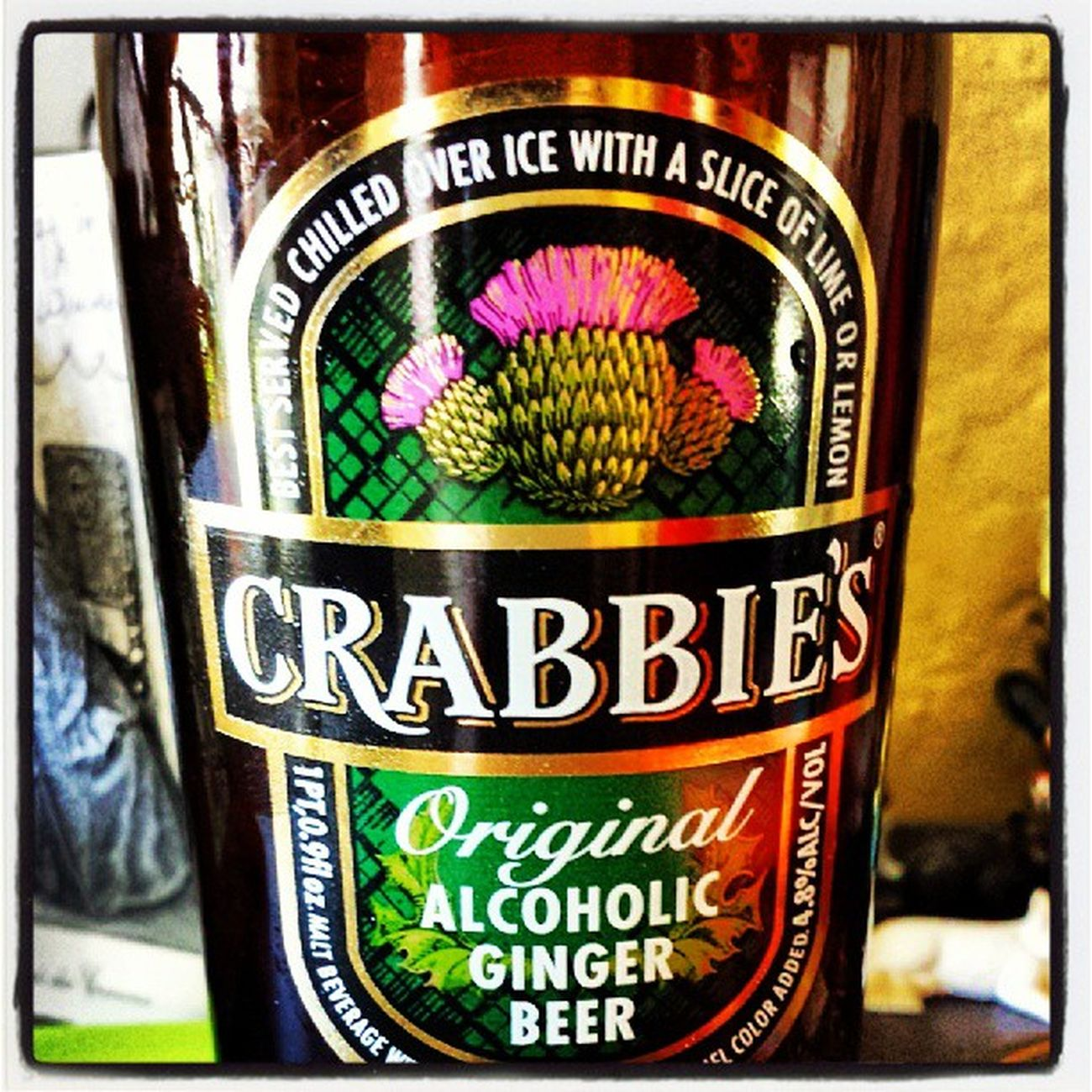This stuff is delicious Crabbies Gingerbeer Scotland