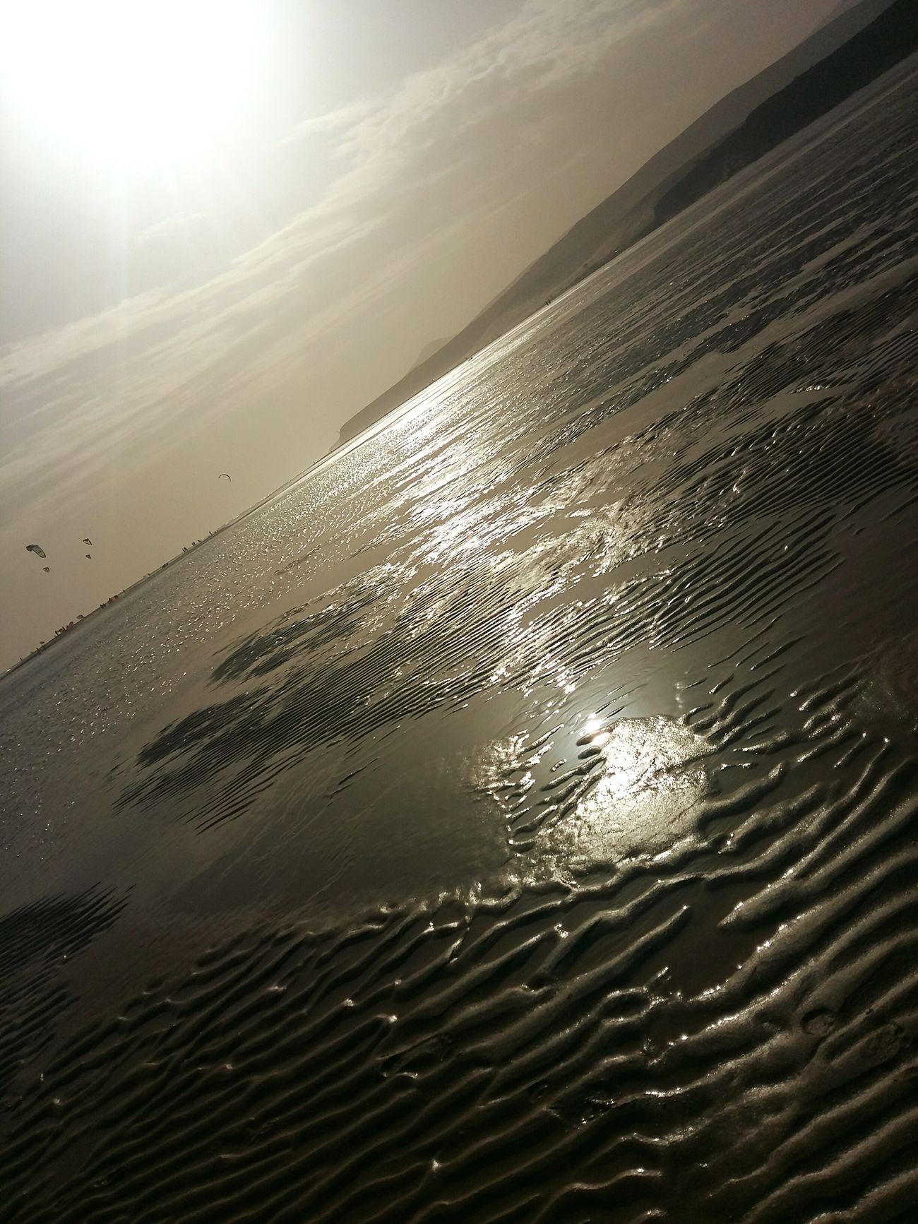 Oceanside Beauty In Nature Outdoors Ebb And Flow Beachphotography Sand Water Holidays Lovley Day