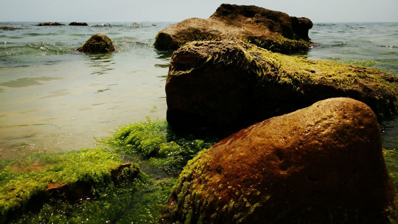 Summer mood Sea Water Nature Beach No People Day Outdoors Bułgaria Varna Sky Scenics Horizon Over Water Beauty In Nature Landscape Rocks And Water