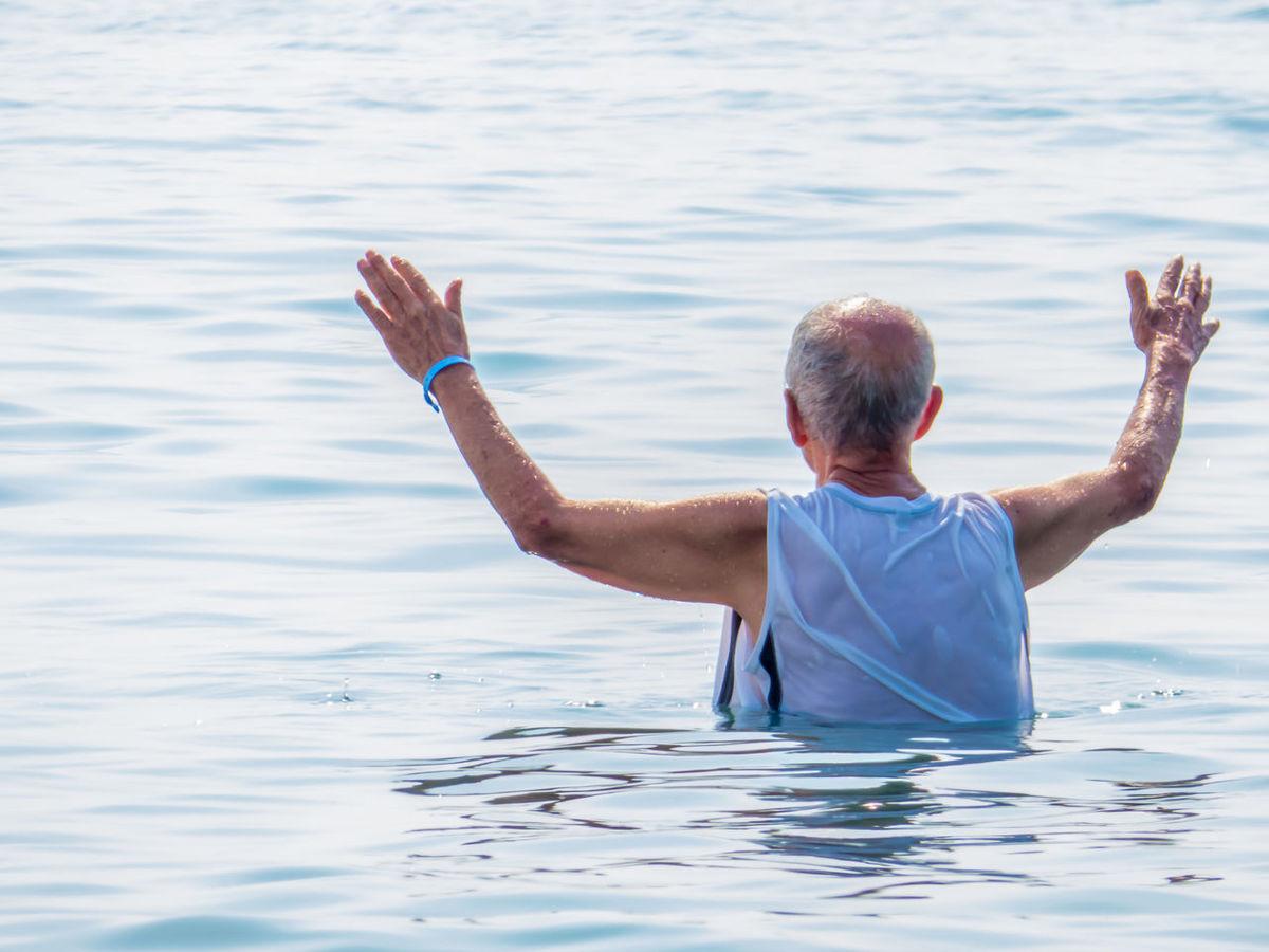 Escapism Men Oldman Peace Real People Redemption Sea Standing Water