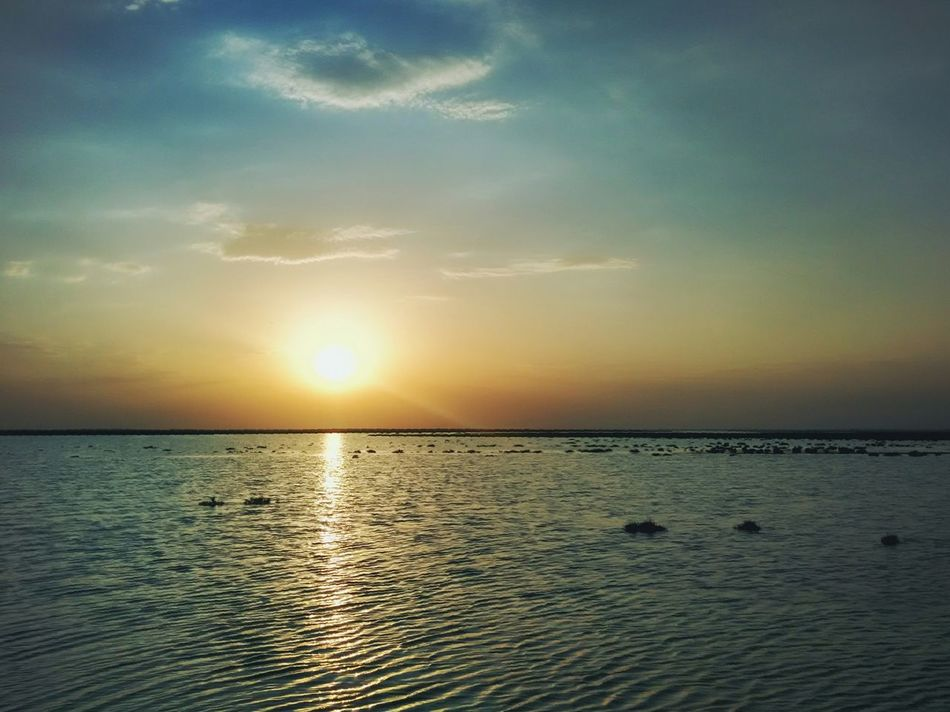 First Eyeem Photo Sunset Alborz Nazarabad Salehieh Wetland Sky Landscape