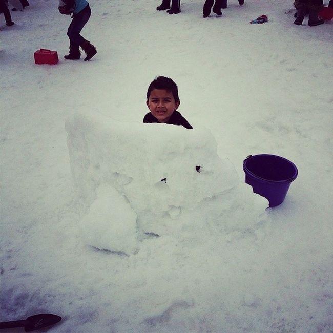 Zayn is ready for snow battle Jawadgatrip