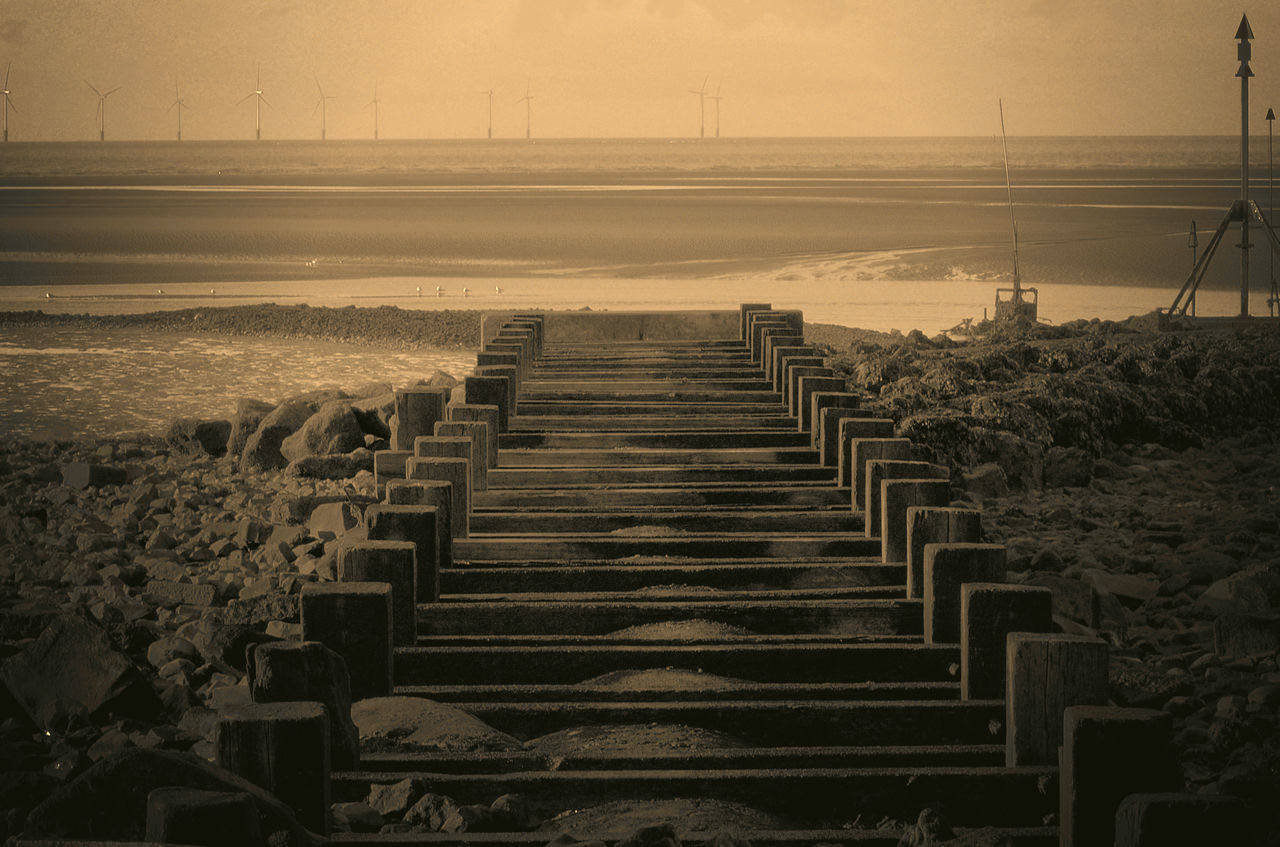 Abandoned Places Architecture Day No People Outdoors Scenics Structure Tranquil Scene Tranquility Water Waterfront Crosby Beach
