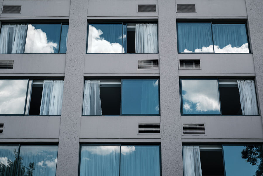 Cloud Architecture Blue Building Exterior Built Structure Cloud - Sky Clouds And Sky Day No People Outdoors Sky Window
