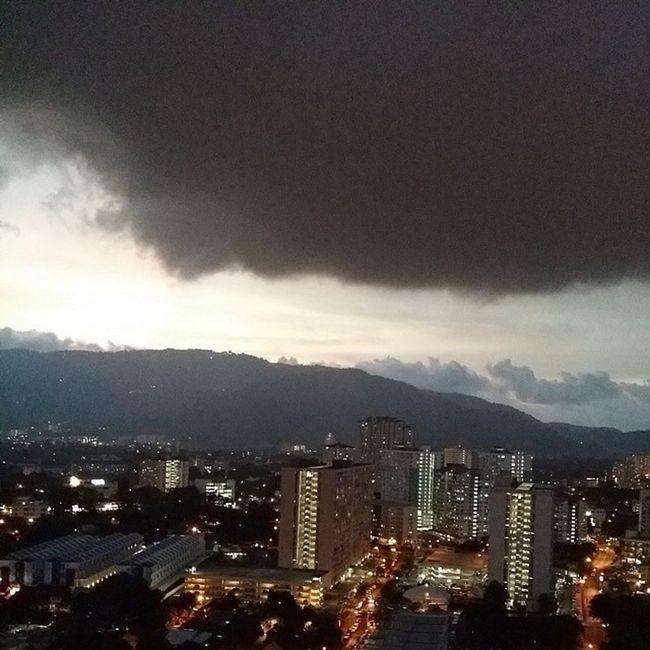 It's about to rain... Rain Wonderfulpenang Dusk Rainynight