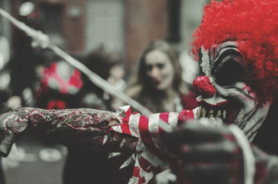 Beautiful stock photos of zombie, City of London, Clown, Danger, Day
