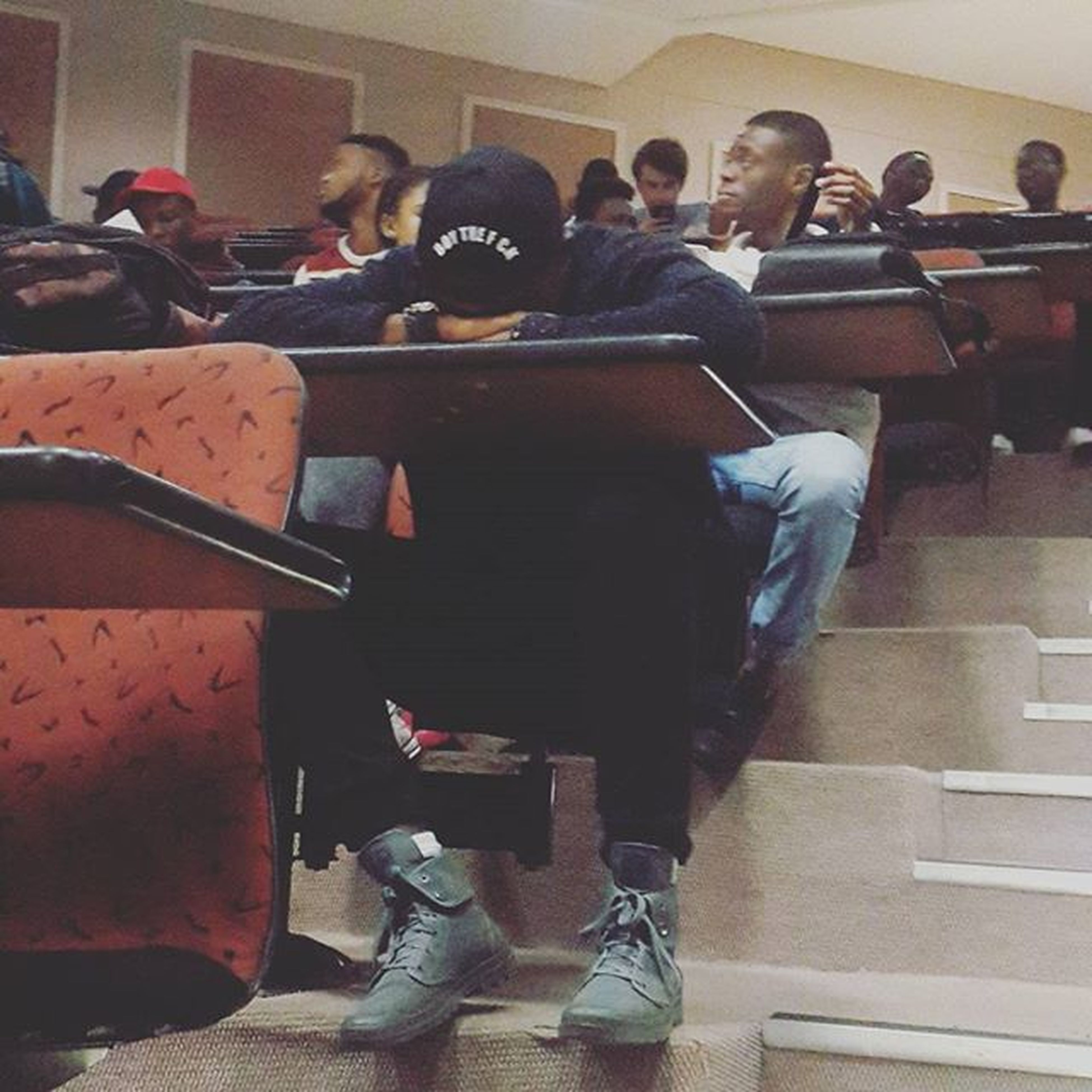 Swagged up in sleep ThursdayMaddness TheoryOfFinanceLecture ...Future Accountants