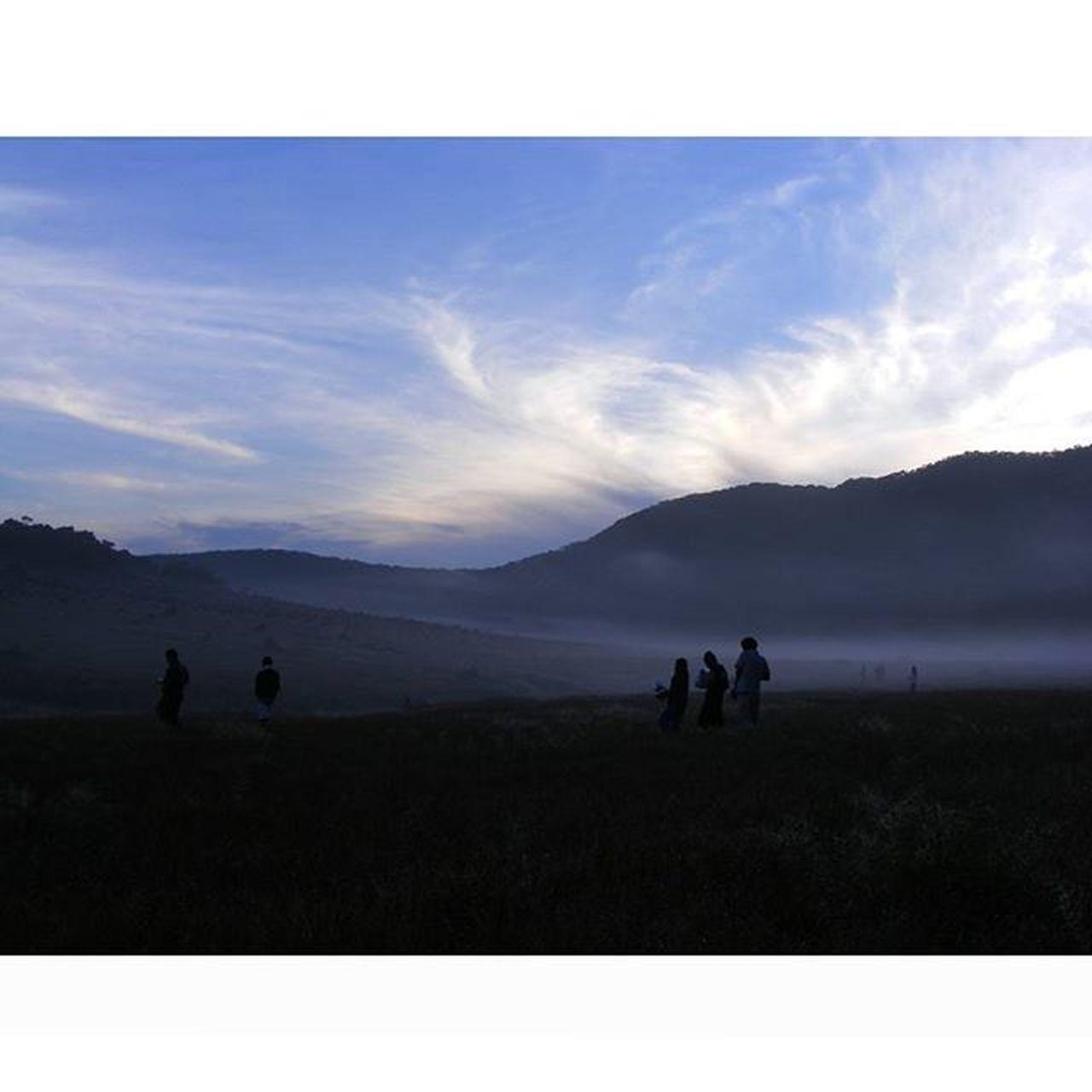 Kabut Pagi di Alunalunsuryakencana Gununggede Tamannasionalgununggedepangrango . 2011 Kameraprosumer Fujifilm Pendakiindonesia Instagunung Indomountain