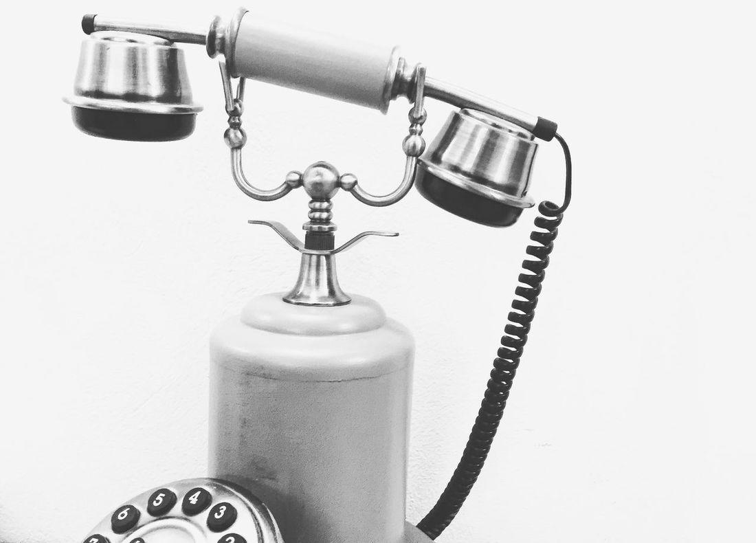 Oldphone. Phone Vintage Blackandwhite