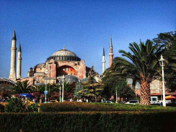 Hagia Sophia Ayasofya Mosque Museum Architecture History Historical Building Istanbul The Great Outdoors - 2015 EyeEm Awards The Architect - 2015 EyeEm Awards