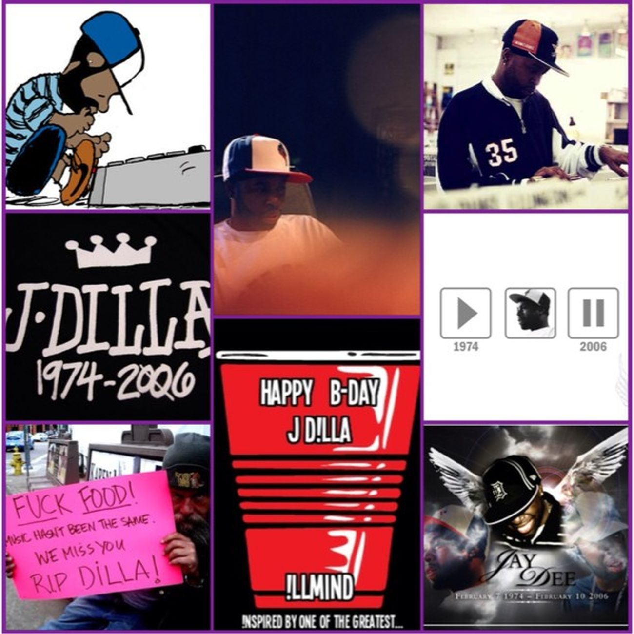 Happy birthday to one of the greatest producers of all time J Dilla!!! May your music live on as you rest in peace. MtvJams is keeping your legacy going this TBT  . Jdilla HappyBirthday RIP CelebrateLife ThrowbackThursday ***Created with Snap Card for iPhone and iPad SnapCard collage***