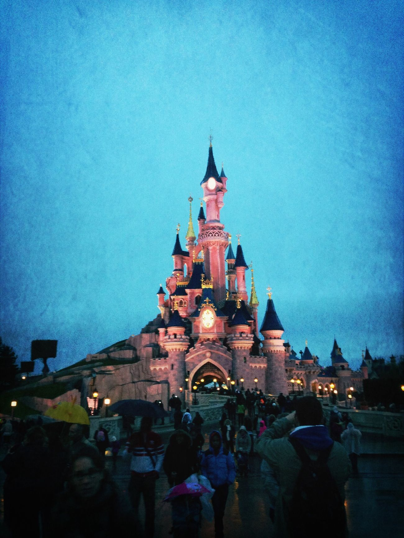 Princess castle ahead