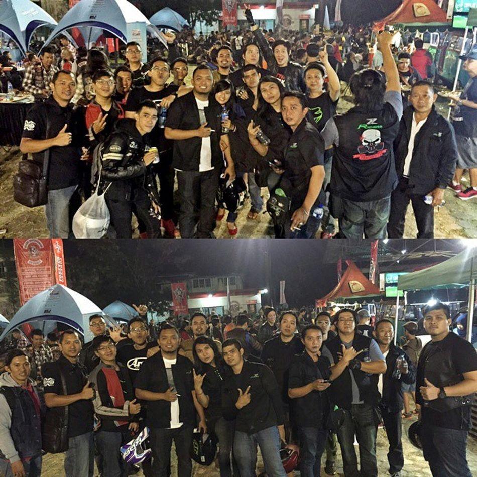 27th Bikers Brotherhood Anniversary Zriders Sidewinders Kawasaki Z250 ninja250fi ninja250 kawasakiz250 val 2015