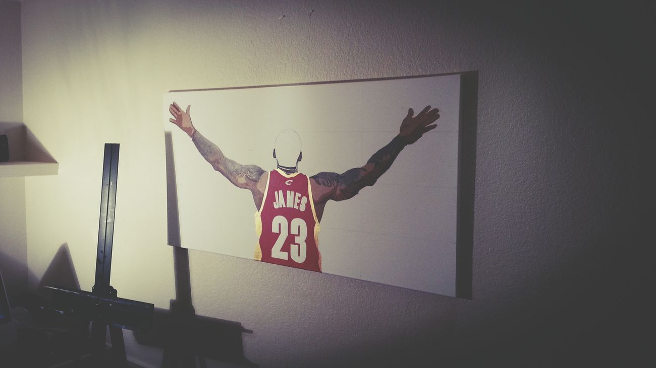 Lebron James NBA Art RayTennyson