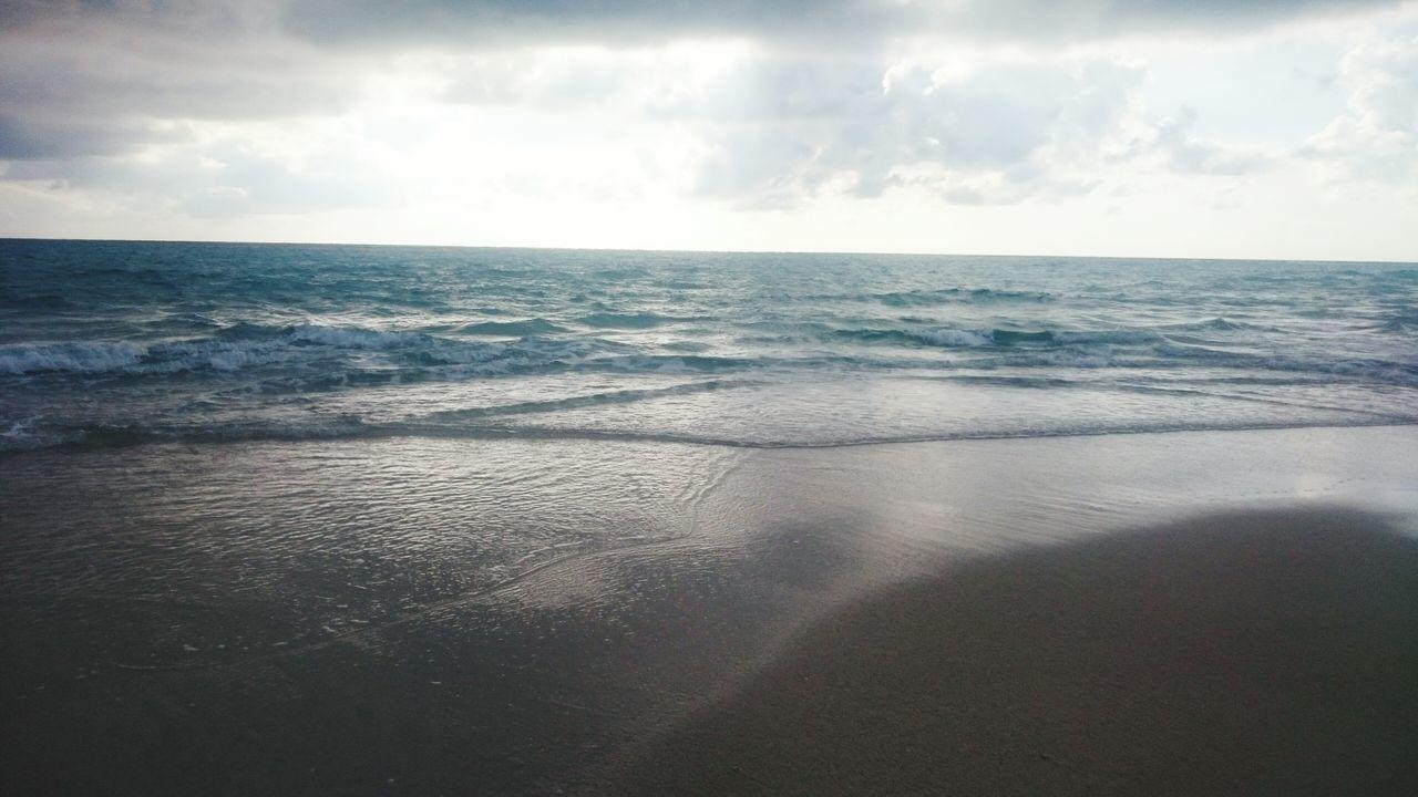 Seaside Water Little Wave Blue