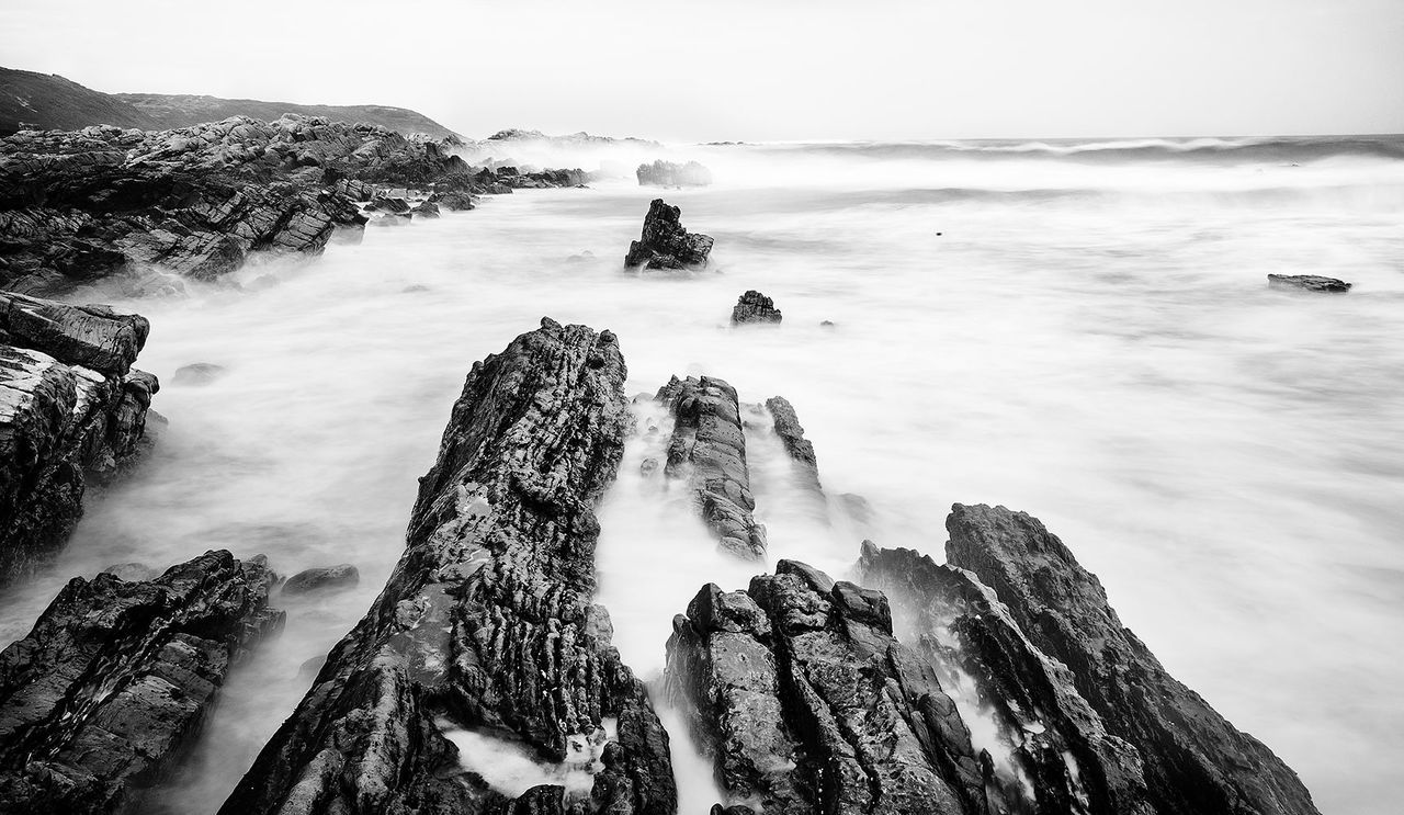 Supernormal Seascape Long Exposure Look Up And Thrive