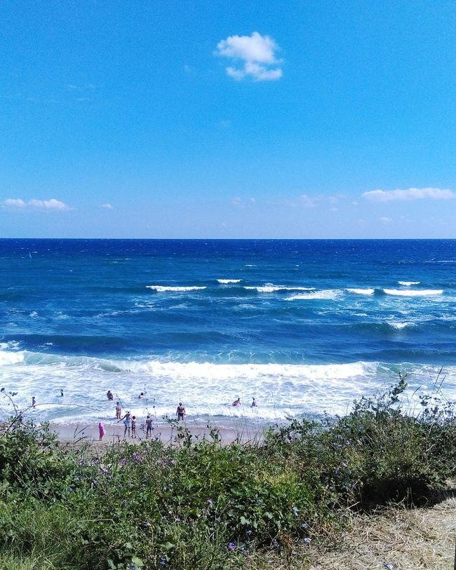 Sea Beautiful Nature Nature's Diversities Lozenets Bulgaria Blue Water Waves Showcase July Photography Ocean Blacksea Summertime
