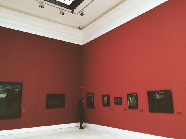 Exhibition Paintings Museum Art