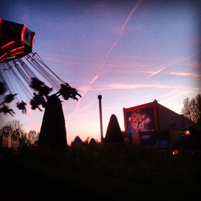 Sunrise Sky in Fire Walibi belgium