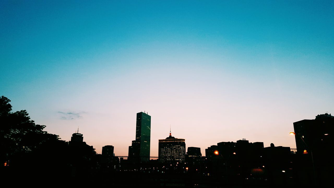 Skyline Boston Summer 2015