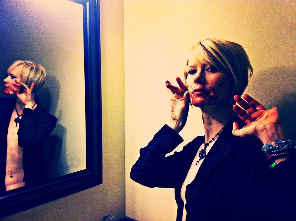 ShowMeYourDarkSide Mirror BloodLust Portrait Of A Woman