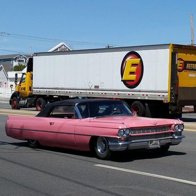 Gotta love pink... CruisinOC Occruisin2015 Oceancitycool FenwickIsland autos cars hotrodsandmusclecars