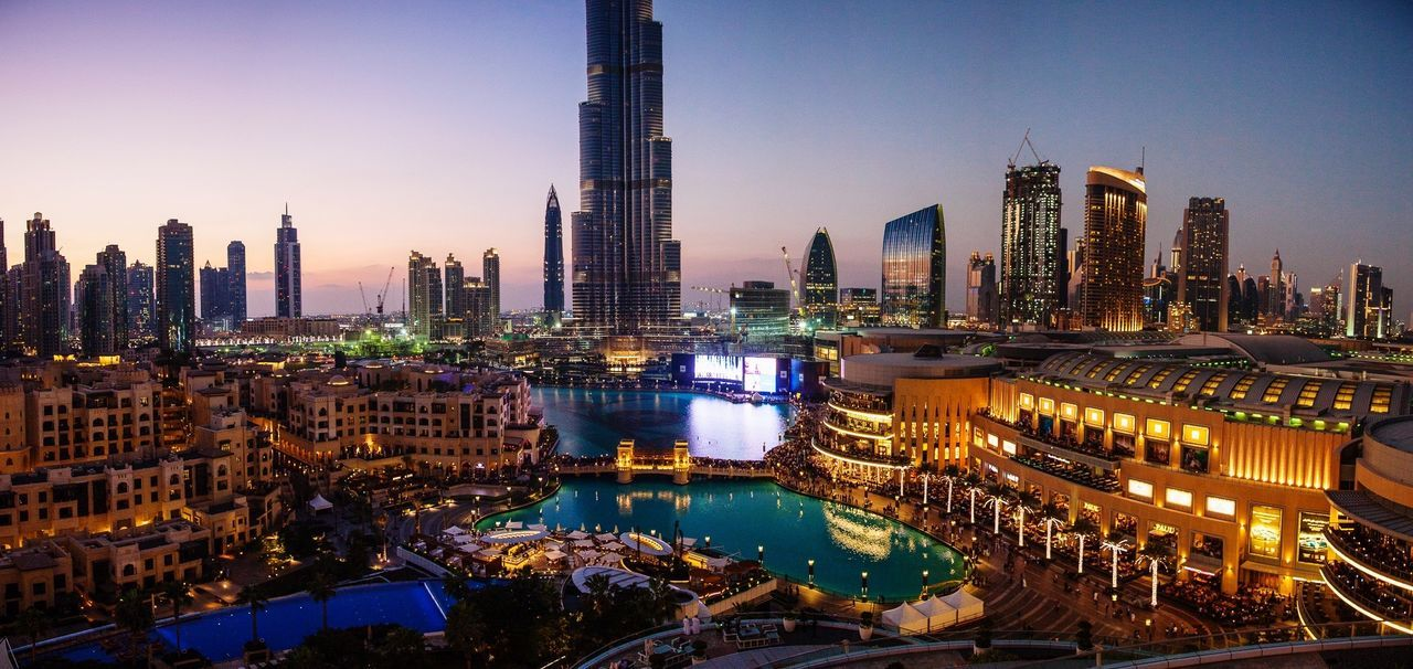 Dubai by Night - Panorama