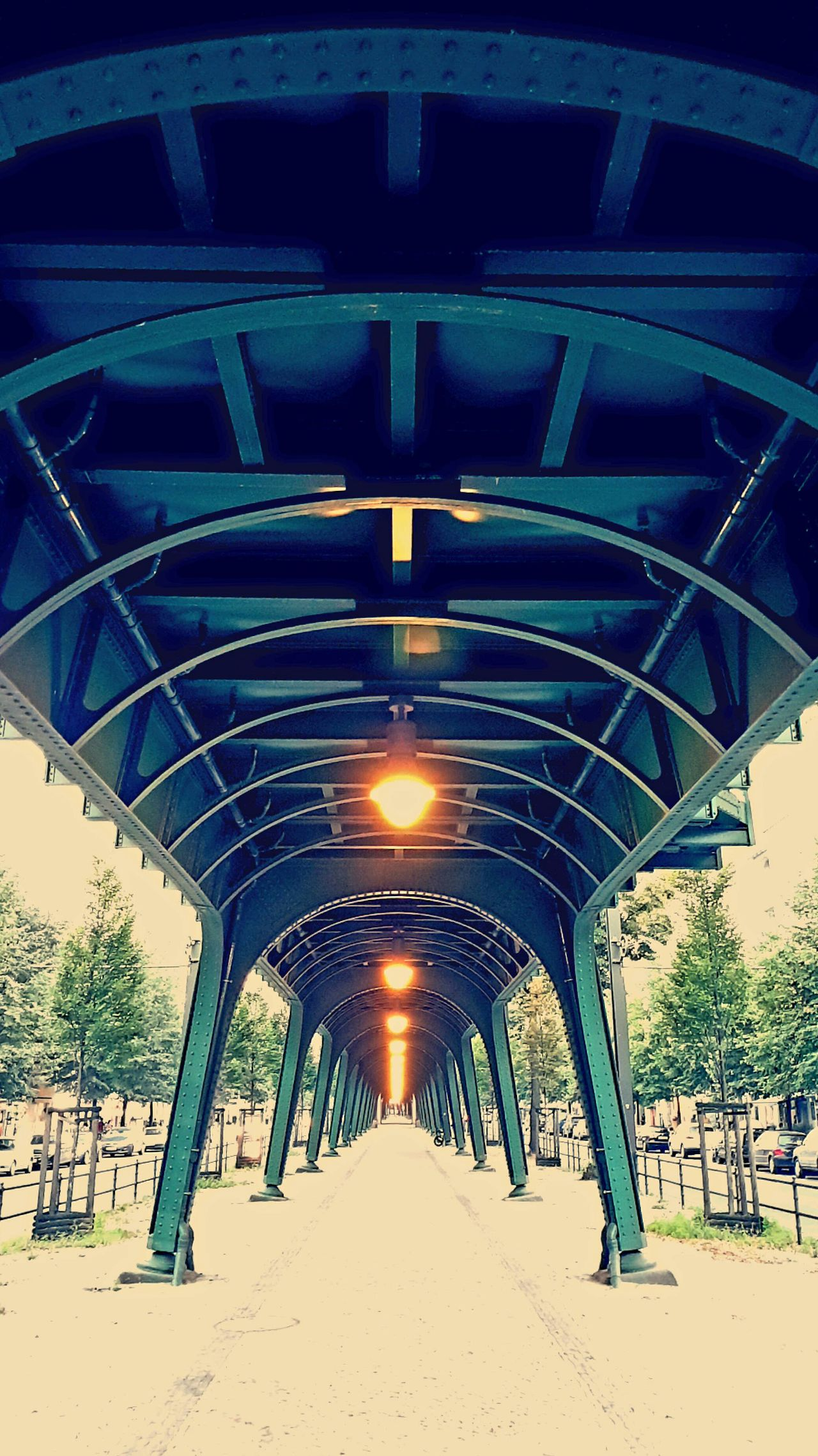 Berlin Architecture Tourism Prenzlauer Berg Architecture Built Structure Connection Low Angle View Metal Engineering Bridge - Man Made Structure Modern Travel Destinations Below Tourism Day The Way Forward Outdoors Bridge Architectural Column Supported Architectural Feature Footpath Famous Place