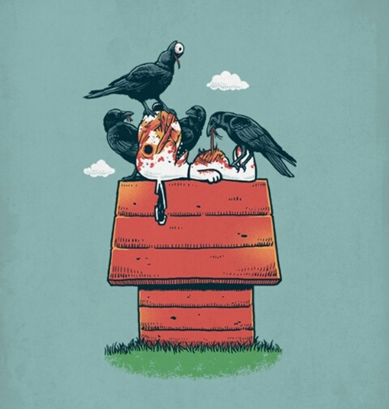 Snopie Crow Karga çizgifilm