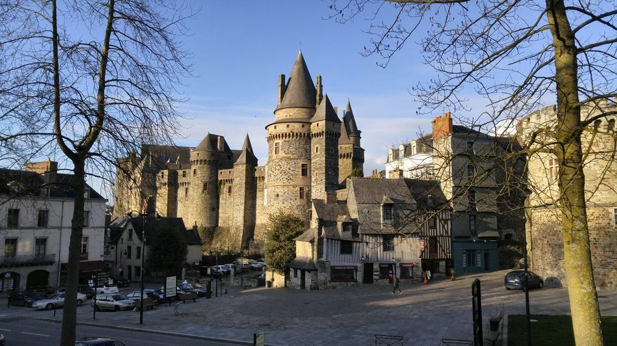 Showcase March Castle Castles Vitre Rennes Bretagne Bretagnetourisme Bretagne My Love Temple Old Age Old Aged Architecture Architecture Castle Walls Castle Ruin Ruins Wall - Building Feature Wall Chateaux Château Old Architecture Architecture_collection Architectureporn Remparts Fortification Fortifications Your Ticket To Europe