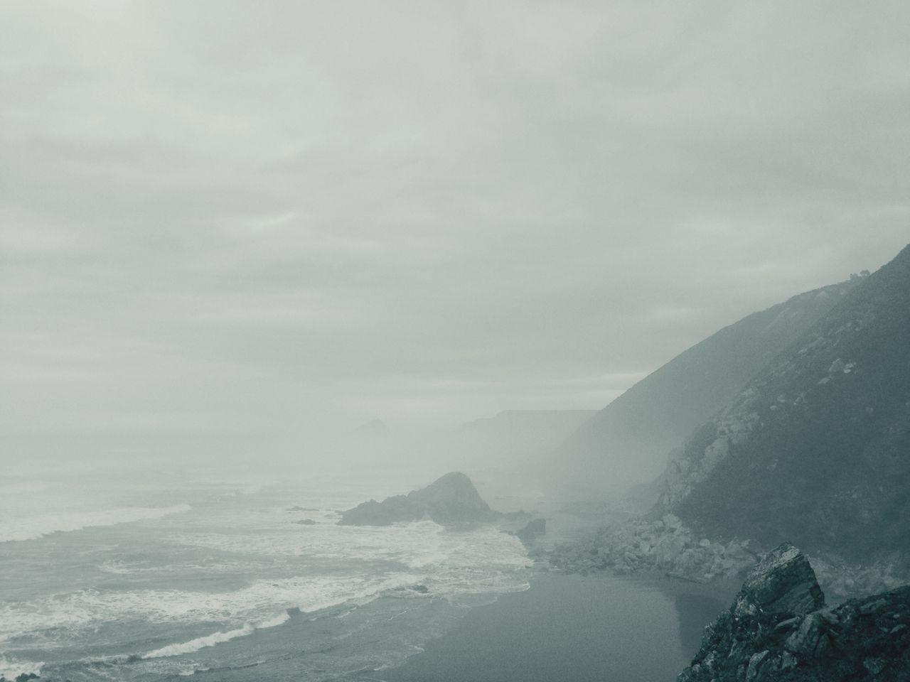 Quebrantos Playa #beach sanjuandelaarena Niebla fog Asturias Asturies Norte