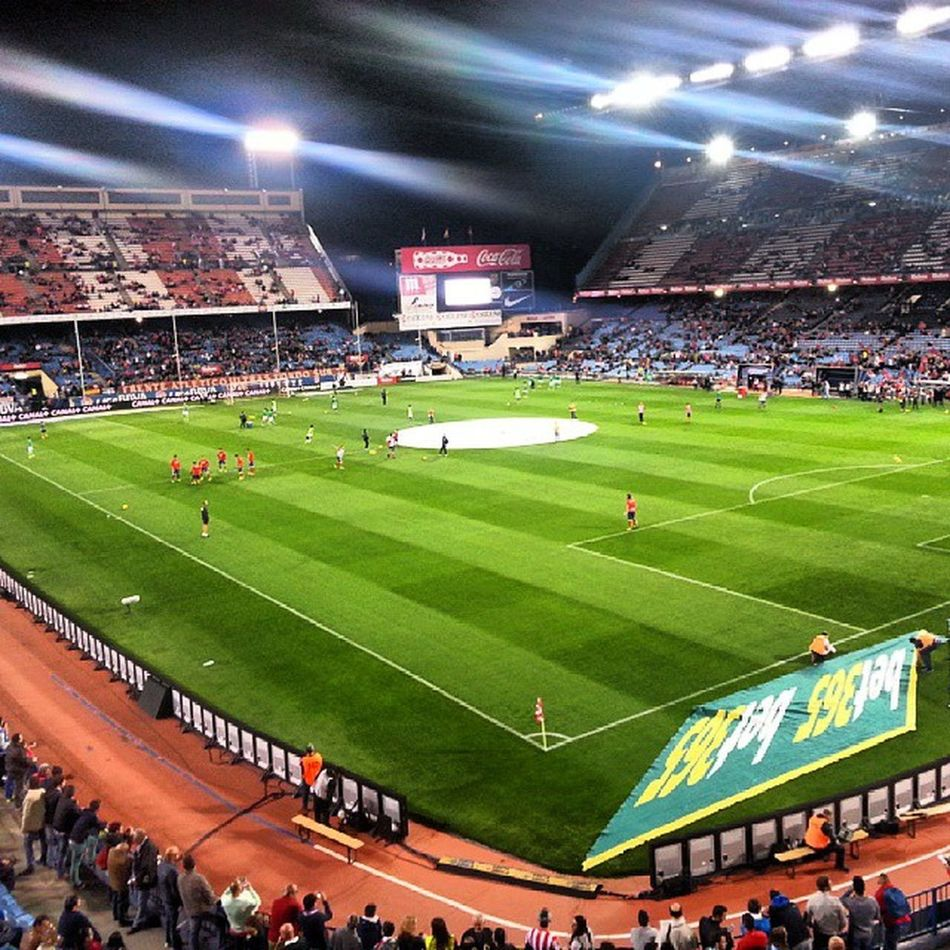 Vicente Calderon Atleti 5-0 Betis Aupaatleti Madridesrojiblanca