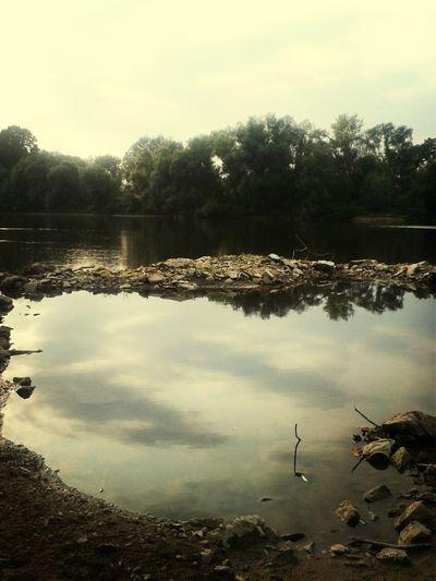 River Pollution Nature Beaut