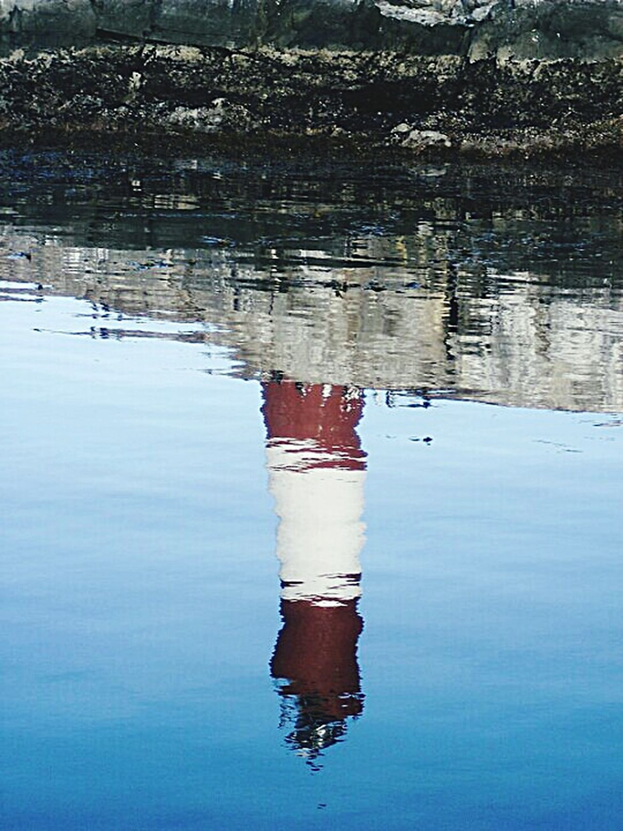 Reflection Water No People Floating On Water Outdoors Lighthouse Travel Argentina Ushuaïa Fin Del Mundo