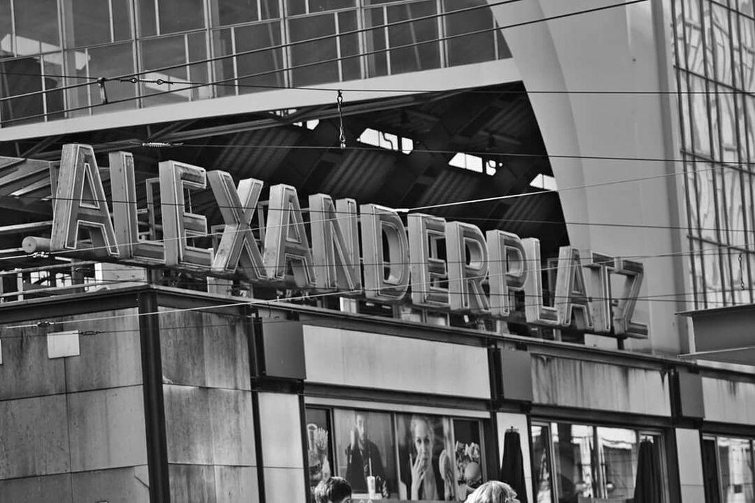 My Fuckin Berlin Alexanderplatz Blaxkandwhite Blackandwhite Photography